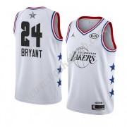 Los Angeles Lakers 2019 Kobe Bryant 24# Hvid All Star Game Swingman Basketball Trøjer..