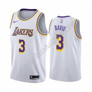 Los Angeles Lakers Basketball Trøjer NBA 2019-20 Anthony Davis 3# Hvid Association Edition Swingman..