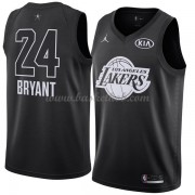 Los Angeles Lakers Kobe Bryant 24# Sort 2018 All Star Game Swingman Basketball Trøjer..