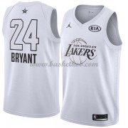 Los Angeles Lakers Kobe Bryant 24# Hvid 2018 All Star Game Swingman Basketball Trøjer..