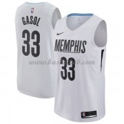 Memphis Grizzlies Basketball Trøjer 2018 Marc Gasol 33# City Edition..