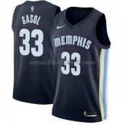 Memphis Grizzlies Basketball Trøjer 2018 Marc Gasol 33# Icon Edition..