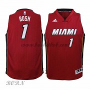 NBA Basketball Trøje Børn Miami Heat 2015-16 Chris Bosh 1# Alternate..