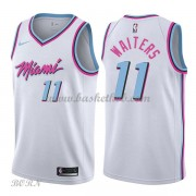NBA Basketball Trøje Børn Miami Heat 2018 Dion Waiters 11# City Edition..