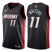 NBA Basketball Trøje Børn Miami Heat 2018 Dion Waiters 11# Icon Edition..