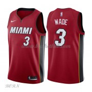 NBA Basketball Trøje Børn Miami Heat 2018 Dwyane Wade 3# Statement Edition..