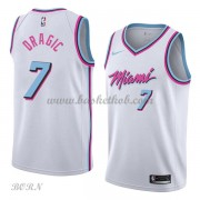 NBA Basketball Trøje Børn Miami Heat 2018 Goran Dragic 7# City Edition..