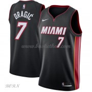 NBA Basketball Trøje Børn Miami Heat 2018 Goran Dragic 7# Icon Edition..