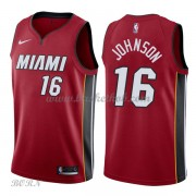 NBA Basketball Trøje Børn Miami Heat 2018 James Johnson 16# Statement Edition..