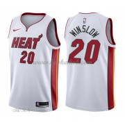 NBA Basketball Trøje Børn Miami Heat 2018 Justise Winslow 20# Association Edition..