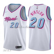 NBA Basketball Trøje Børn Miami Heat 2018 Justise Winslow 20# City Edition..
