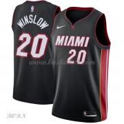 NBA Basketball Trøje Børn Miami Heat 2018 Justise Winslow 20# Icon Edition..