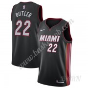 Billige Basketball Trøje Børn Miami Heat 2019-20 Jimmy Butler 22# Sort Icon Edition Swingman..