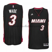 Miami Heat Basketball Trøjer 2015-16 Dwyane Wade 3# Road..