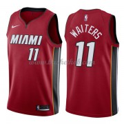 Miami Heat Basketball Trøjer 2018 Dion Waiters 11# Statement Edition..