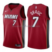 Miami Heat Basketball Trøjer 2018 Goran Dragic 7# Statement Edition..