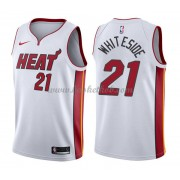 Miami Heat Basketball Trøjer 2018 Hassan Hvidside 21# Association Edition..
