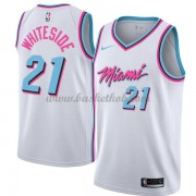 Miami Heat Basketball Trøjer 2018 Hassan Hvidside 21# City Edition..