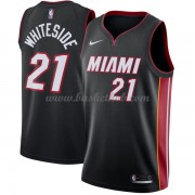 Miami Heat Basketball Trøjer 2018 Hassan Hvidside 21# Icon Edition..