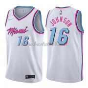 Miami Heat Basketball Trøjer 2018 James Johnson 16# City Edition..