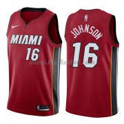 Miami Heat Basketball Trøjer 2018 James Johnson 16# Statement Edition..