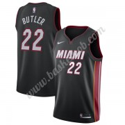 Miami Heat Basketball Trøjer NBA 2019-20 Jimmy Butler 22# Sort Icon Edition Swingman..