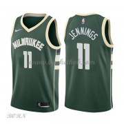 NBA Basketball Trøje Børn Milwaukee Bucks 2018 Brandon Jennings 11# Icon Edition..
