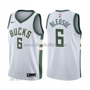NBA Basketball Trøje Børn Milwaukee Bucks 2018 Eric Bledsoe 6# Association Edition..