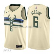 NBA Basketball Trøje Børn Milwaukee Bucks 2018 Eric Bledsoe 6# City Edition..