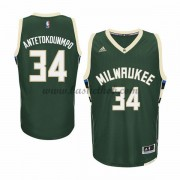 Milwaukee Bucks Basketball Trøjer 2015-16 Giannis Antetokounmp 34# Road..