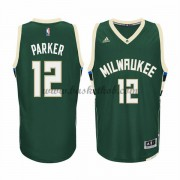 Milwaukee Bucks Basketball Trøjer 2015-16 Jabari Parker 12# Road..