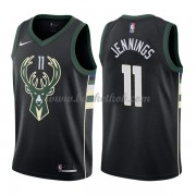 Milwaukee Bucks Basketball Trøjer 2018 Brandon Jennings 11# Statement Edition..
