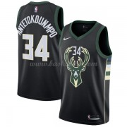 Milwaukee Bucks Basketball Trøjer 2018 Giannis Antetokounmpo 34# Statement Edition..