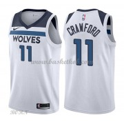 NBA Basketball Trøje Børn Minnesota Timberwolves 2018 Jamal Crawford 11# Association Edition..