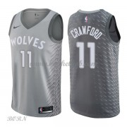 NBA Basketball Trøje Børn Minnesota Timberwolves 2018 Jamal Crawford 11# City Edition..