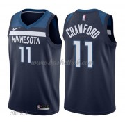 NBA Basketball Trøje Børn Minnesota Timberwolves 2018 Jamal Crawford 11# Icon Edition..