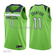 NBA Basketball Trøje Børn Minnesota Timberwolves 2018 Jamal Crawford 11# Statement Edition..