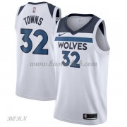 NBA Basketball Trøje Børn Minnesota Timberwolves 2018 Karl Anthony Towns 32# Association Edition..