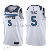 NBA Basketball Trøje Børn Minnesota Timberwolves 2018 Karl Gorgui Dieng 5# Association Edition..