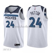 NBA Basketball Trøje Børn Minnesota Timberwolves 2018 Karl Justin Patton 24# Association Edition..