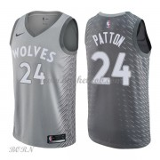 NBA Basketball Trøje Børn Minnesota Timberwolves 2018 Karl Justin Patton 24# City Edition..