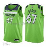 NBA Basketball Trøje Børn Minnesota Timberwolves 2018 Taj Gibson 67# Statement Edition..
