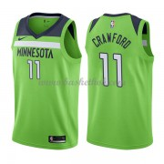 Minnesota Timberwolves Basketball Trøjer 2018 Jamal Crawford 11# Statement Edition..