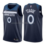 Minnesota Timberwolves Basketball Trøjer 2018 Jeff Teague 0# Icon Edition..