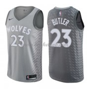 Minnesota Timberwolves Basketball Trøjer 2018 Jimmy Butler 23# City Edition..