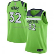Minnesota Timberwolves Basketball Trøjer 2018 Karl Anthony Towns 32# Statement Edition..