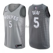 Minnesota Timberwolves Basketball Trøjer 2018 Karl Gorgui Dieng 5# City Edition..