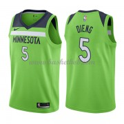 Minnesota Timberwolves Basketball Trøjer 2018 Karl Gorgui Dieng 5# Statement Edition..