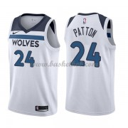 Minnesota Timberwolves Basketball Trøjer 2018 Karl Justin Patton 24# Association Edition..