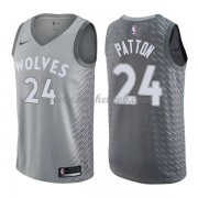 Minnesota Timberwolves Basketball Trøjer 2018 Karl Justin Patton 24# City Edition..